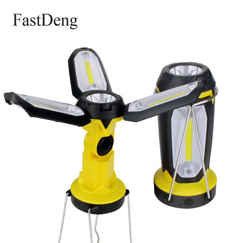 Multifunction Rechargeable Light Deformable Fancy lighting with USB cable Portable Lantern Flashlight