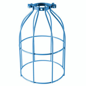 Bulb Guard Clamp On Metal Lamp Cage Retro Trouble Light Industrial Pendant Lights Cage