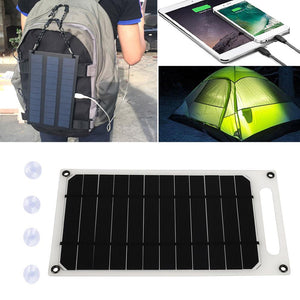 Phone Charger Fast Charger USB Port 5V 10W Durable Solar Generator Outdoor