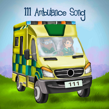 Call For The Ambulance Picture Book Feat. 111 Ambulance Song