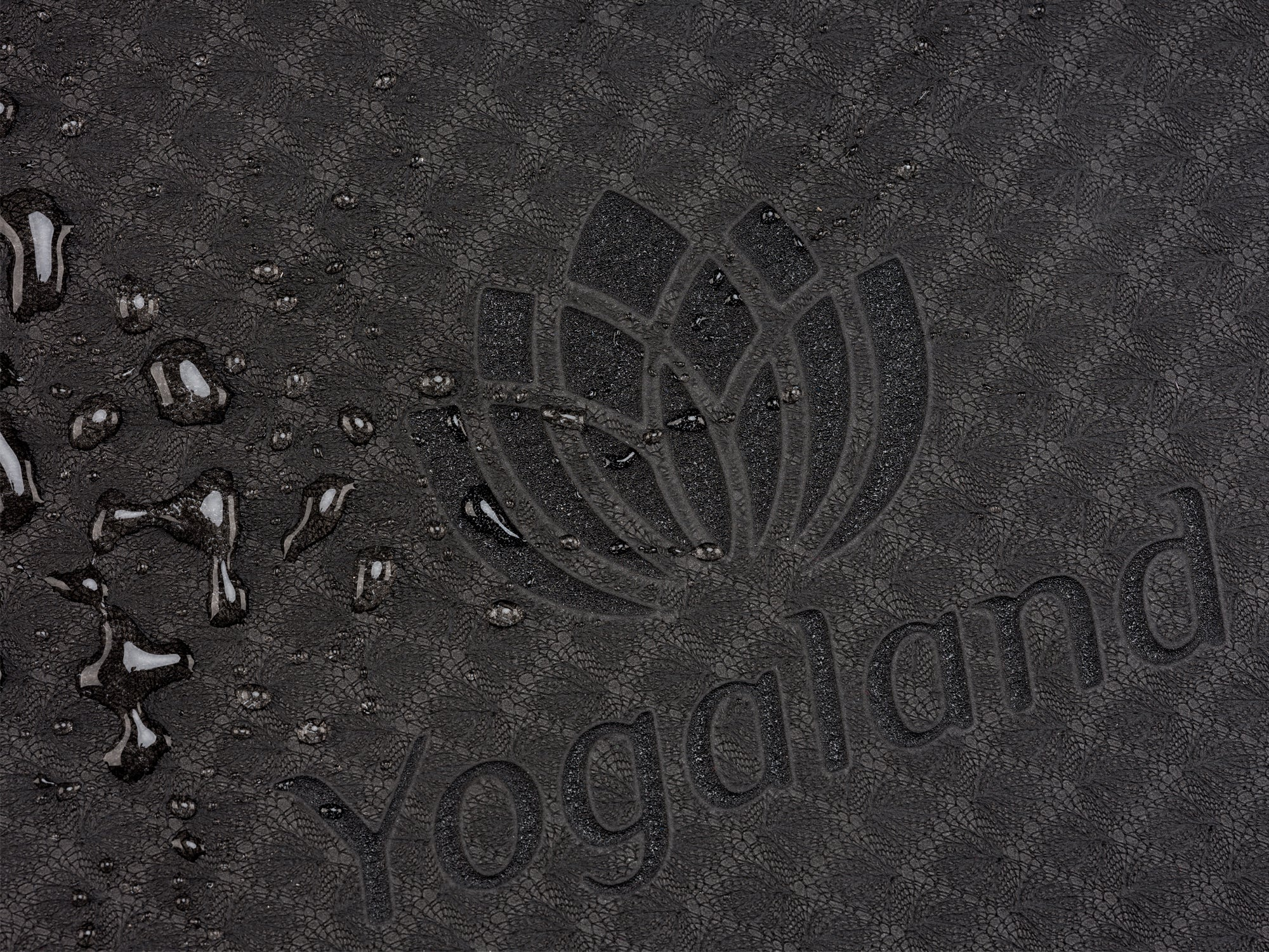YOGALAND Premium Yoga Mat with Carrier Strap - Yoga Mat 6mm 1/4-Inch Thick, Non-Slip, Eco-Friendly Lightweight, Extra Large 72 x 24 for Yoga, Pilates, Exercise, Fitness (Dark Grey)