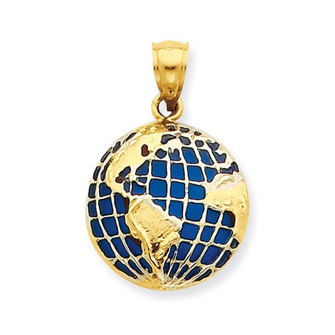 14k Gold Travel Landmarks Places Themed Pendants Charms