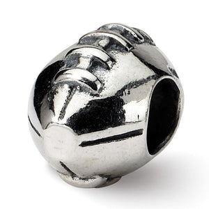 Authentic Reflections Sterling Silver Football Bead Charm