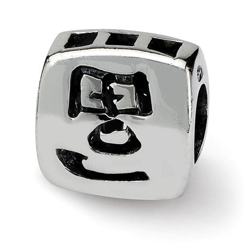 Authentic Reflections Sterling Silver Chinese Character Wealth Bead Charm