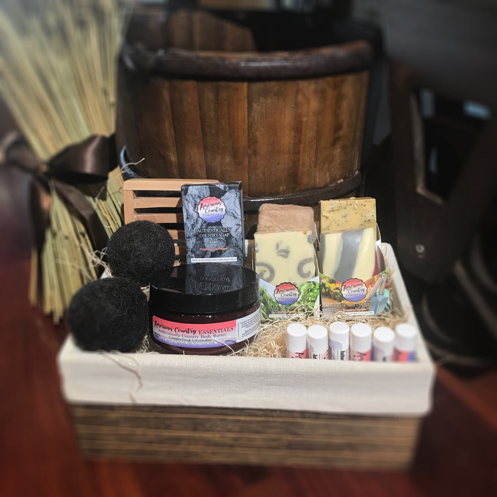 Authentically Country Large Gift Basket