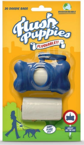 Flush Puppies Dispenser with Waste Bags