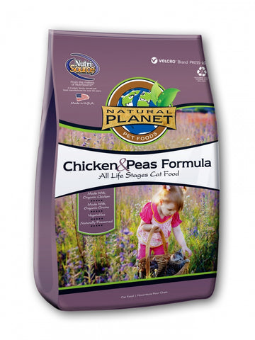Natural Planet Chicken and Peas Formula Dry Cat Food