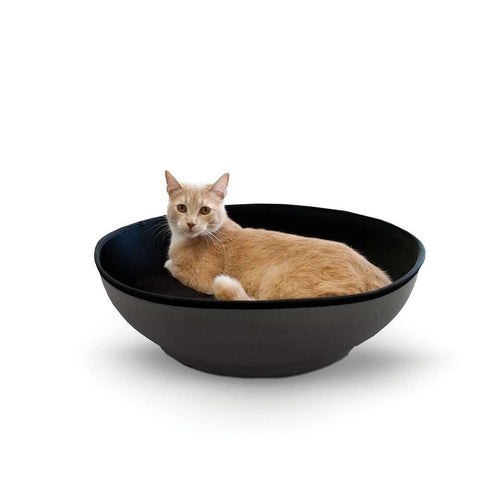 K&H Pet Products Mod Half-Pod Cat Bed