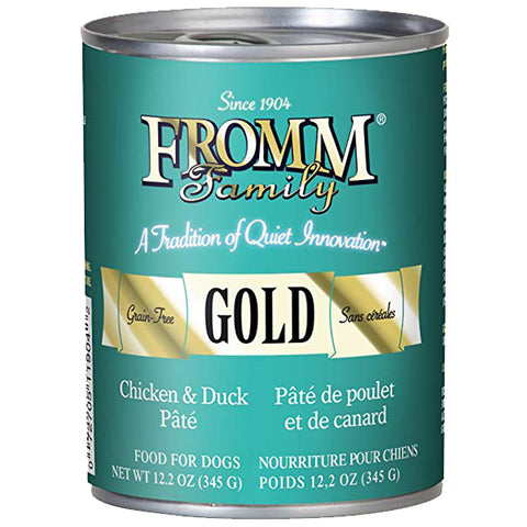 Fromm Family Grain-Free Chicken and Duck Pate Canned