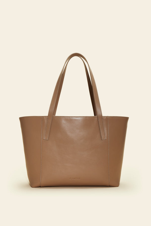 Open Duo Leather Tote