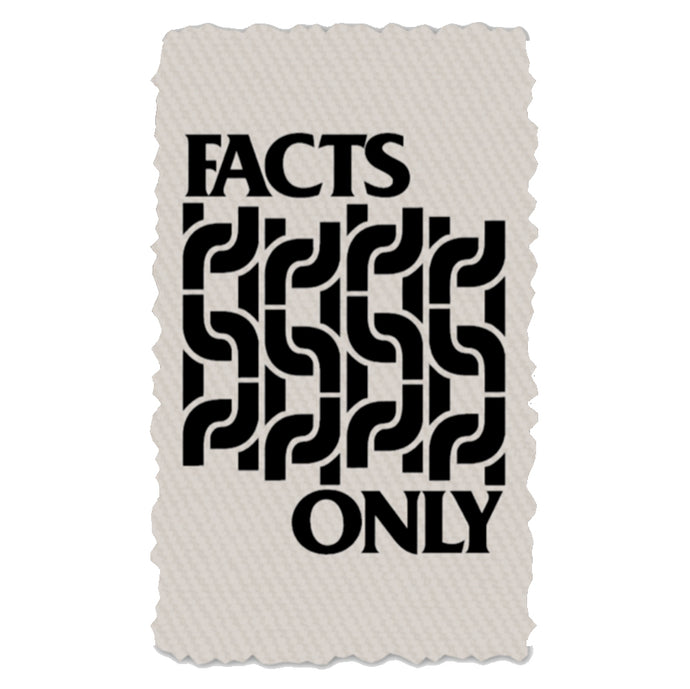 FACTS ONLY CANVAS PATCH