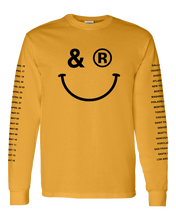 SMILEY LONGSLEEVE - GOLD