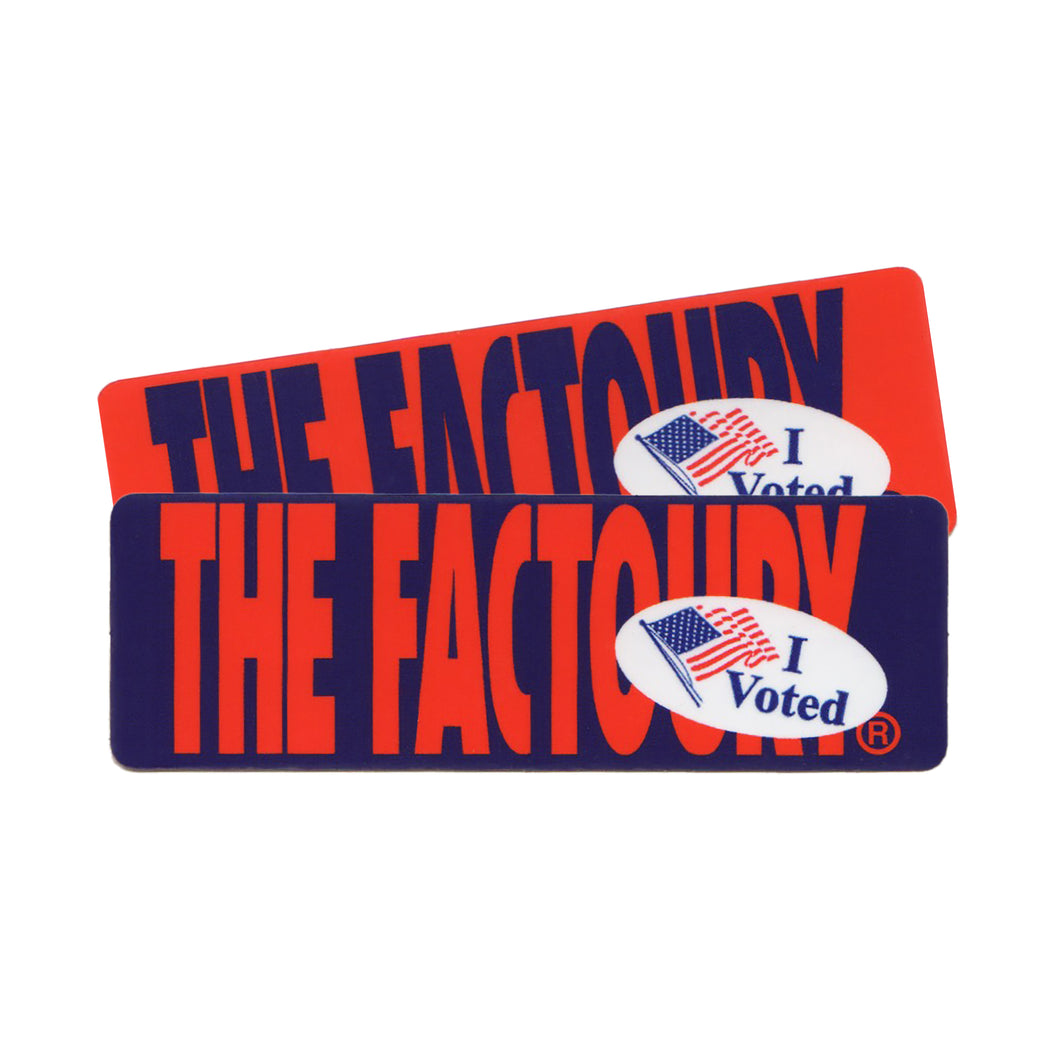 THE FACTOURY® I VOTED STICKERS
