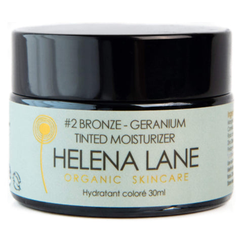 Jar of Helena Lane #2 Bronze Geranium Tinted Moisturizer 30 Milliliters