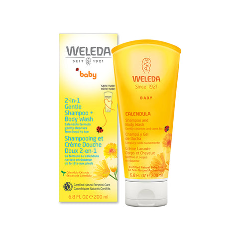 Weleda - 2-in-1 Gentle Shampoo + Body Wash | Kolya Naturals, Canada
