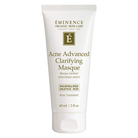 Bottle of Eminence Acne Advanced Clarifying Masque 2 Ounces
