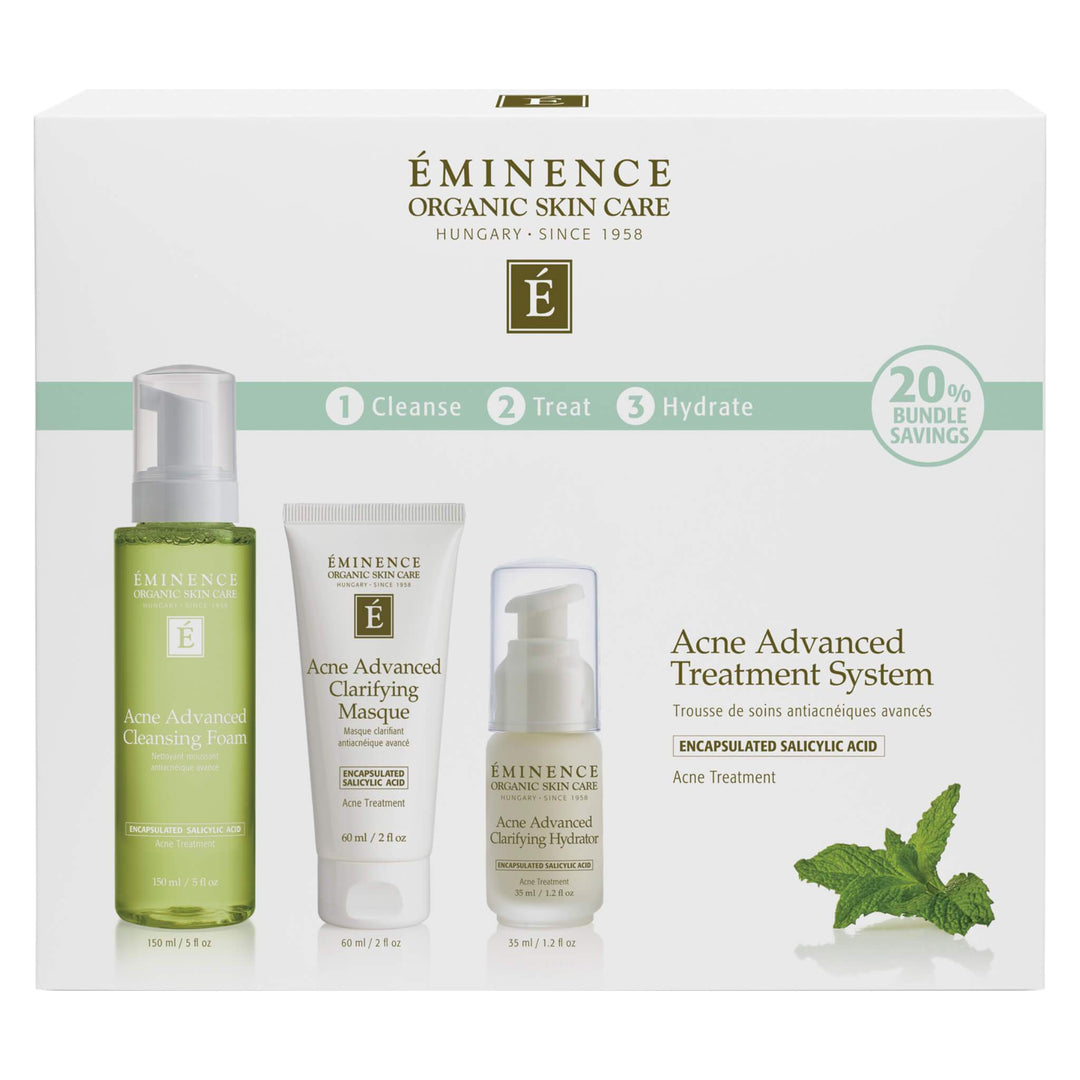 Box of Eminence Acne Advanced Treatment System