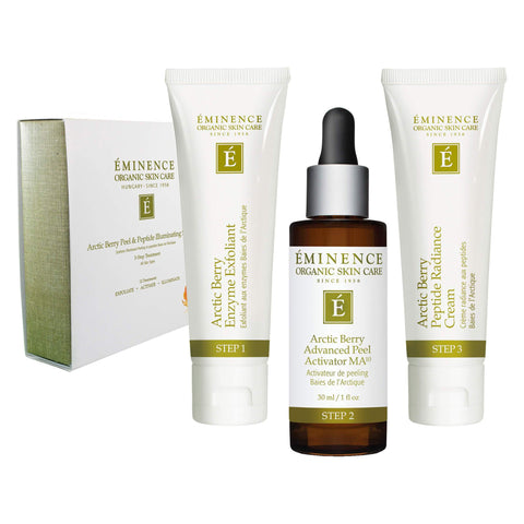Box of Eminence Arctic Berry Peel & Peptide Illuminating System