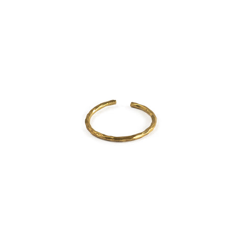 Band Midi Ring - Brass