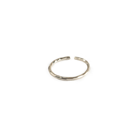 Band Midi Ring - Sterling Silver