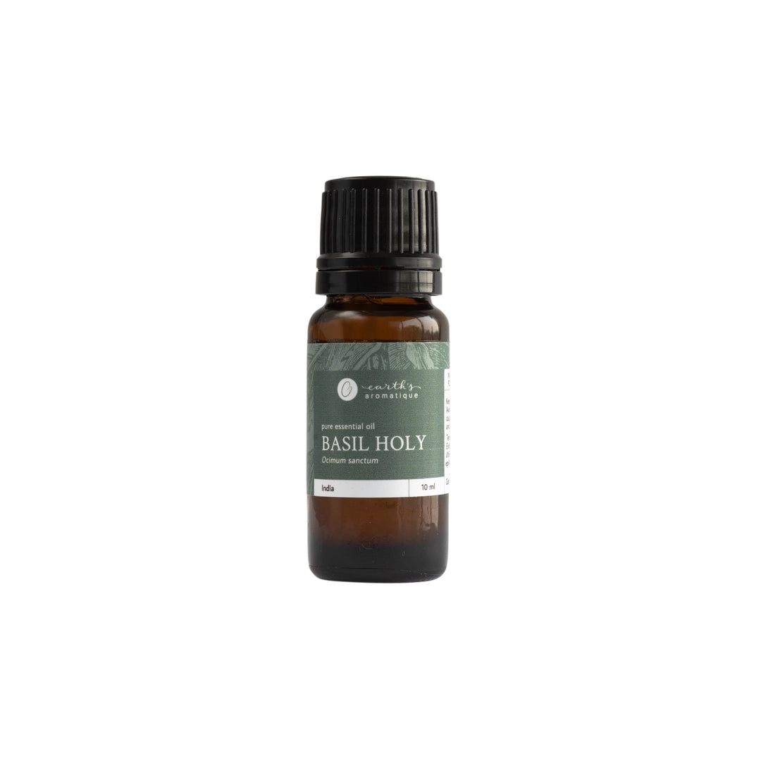Earth's Aromatique - Basil, Holy Essential Oil | Kolya Naturals, Canada