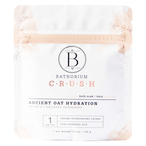 Bag of Bathorium Crush Ancient Oat Hydration 120 Grams | Kolya Naturals, Canada