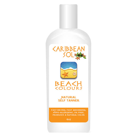 Bottle of Beach Colours Sunless Tanner 6 Ounces