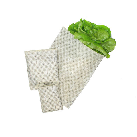 Reusable Beeswax Wrap Bag (Starter Pack)