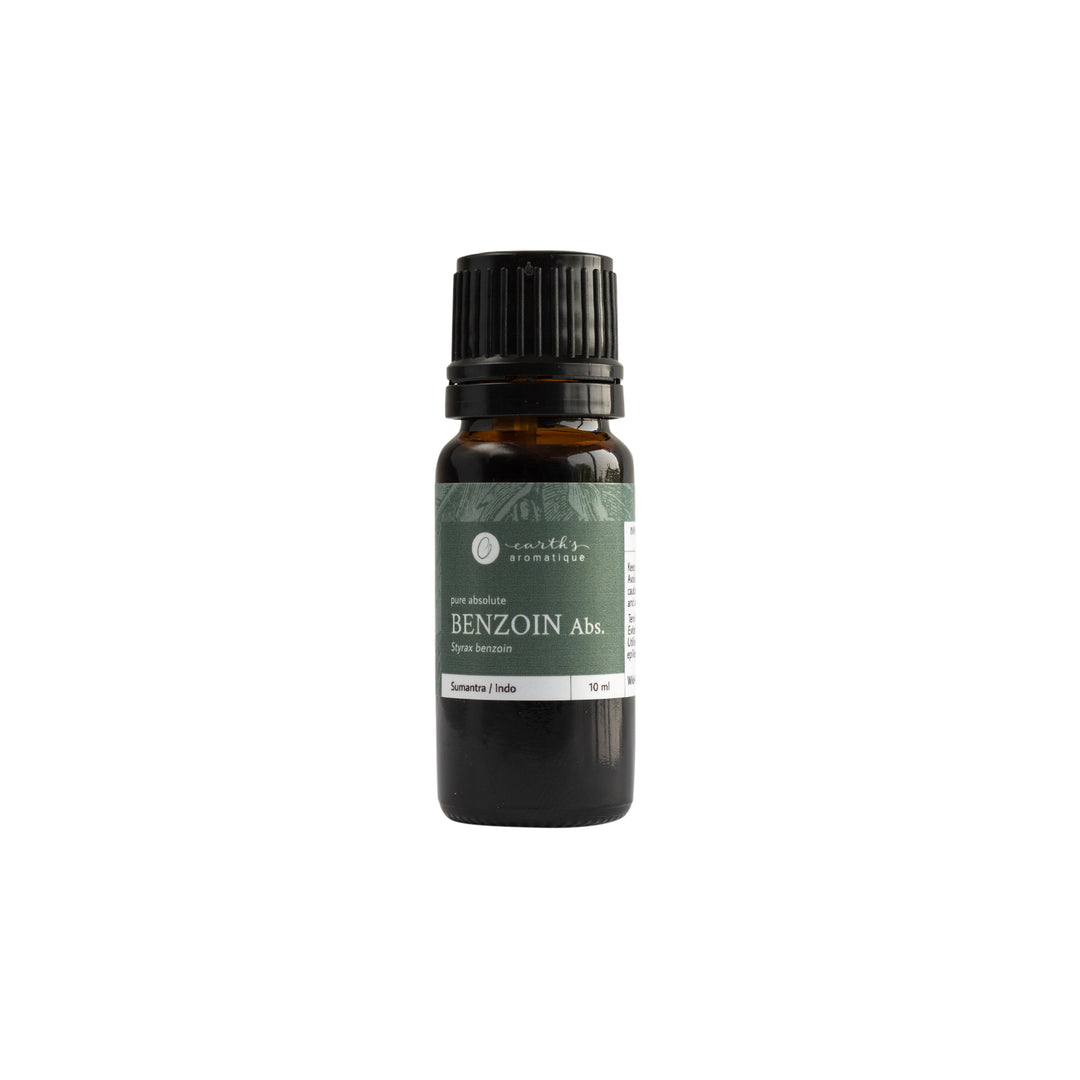 Earth's Aromatique - Benzoin Dilution Essential Oil 10ml | Kolya Naturals, Canada