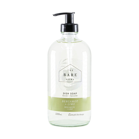Bergamot & Lime Dish Soap 500ml