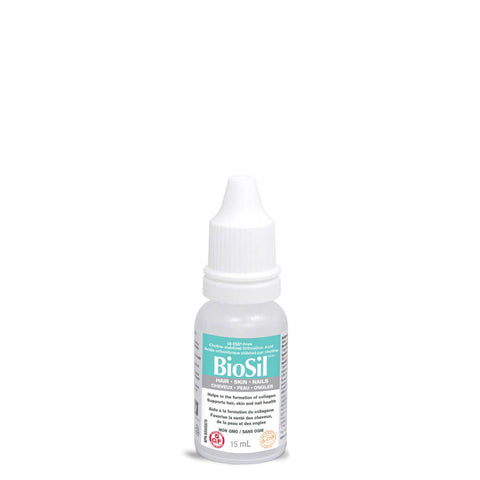 Dropper Bottle of BioSil Drops 15 Milliliters | Kolya Naturals, Canada