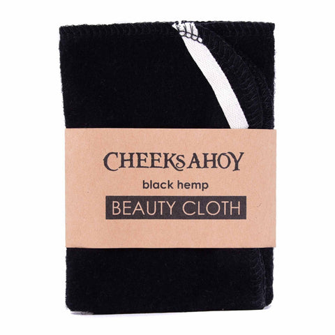 Cheeks Ahoy Black Beauty Facial Cloth
