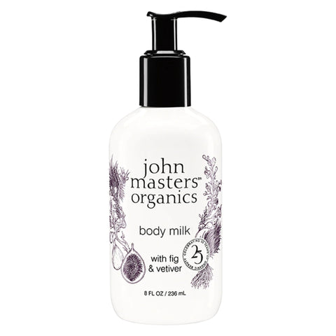 John Master's Organics - Body Milk with Fig & Vetiver 8 Fluid Ounces 236 Milliliters | Kolya Naturals, Canada