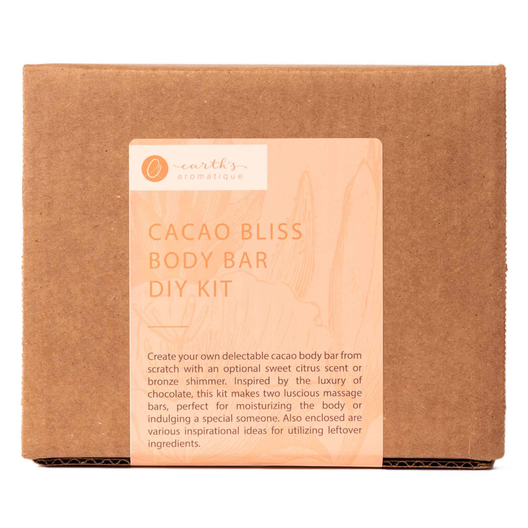 Earth's Aromatique - Cacao Bliss Body Bar DIY Kit Box | Kolya Naturals, Canada