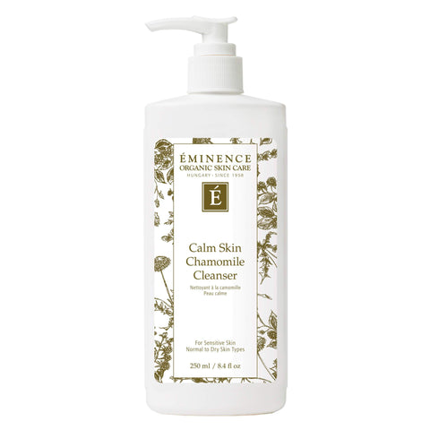 Pump Bottle of Eminence Calm Skin Chamomile Cleanser 250 Milliliters