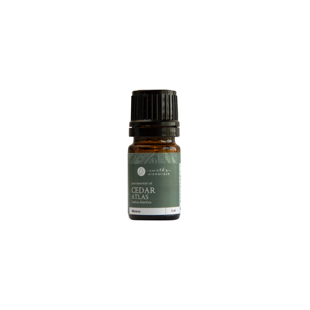 Earth's Aromatique - Cedar Atlas Essential Oil 5ml | Kolya Naturals, Canada