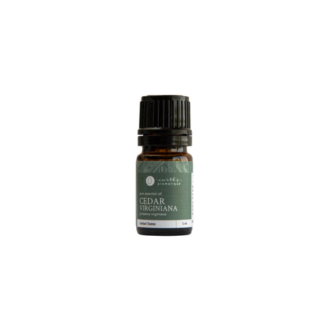 Earth's Aromatique - Virginia Cedarwood 5 mL Essential Oil | Kolya Naturals, Canada