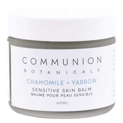 Jar of Communon Botanicals Chamomile + Yarrow Sensitive Skin Balm 60 Milliliters