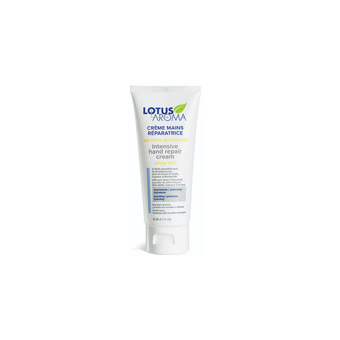 Lotus Aroma - Citrus Zest Intensive Hand Repair Cream | Kolya Naturals, Canada