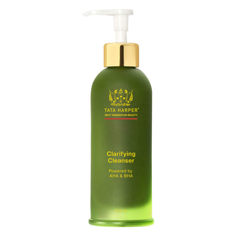 Pump Bottle of Tata Harper Clarifying Cleanser 4.1 Ounces