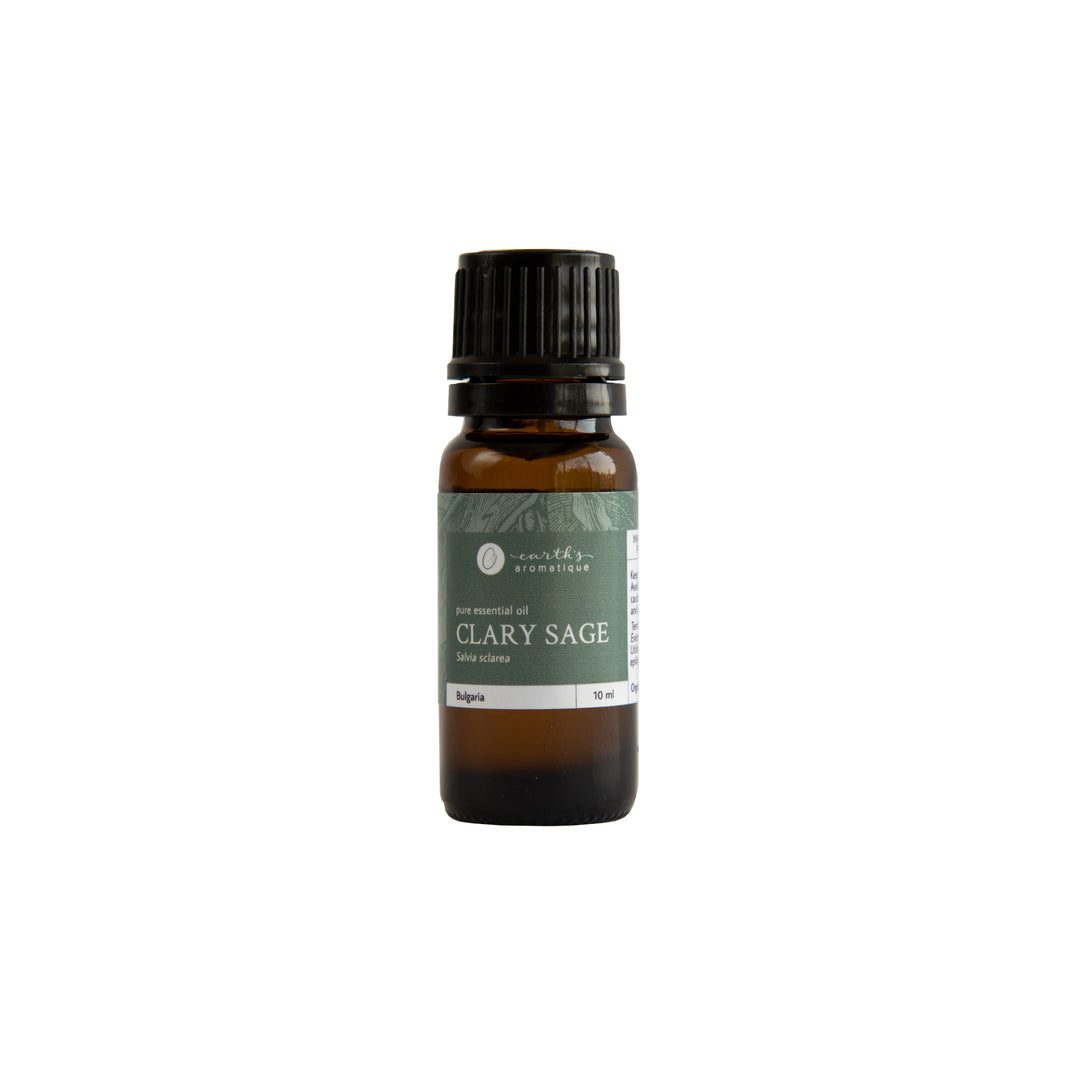 Earth's Aromatique - Clary Sage Essential Oil 10ml | Kolya Naturals, Canada