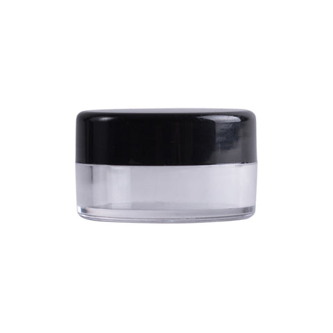 Earth's Aromatique - Clear Plastic Jar w/ Black Lid | Kolya Naturals, Canada