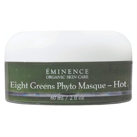 Jar of Eminence Eight Greens Phyto Masque (Hot) 60 Milliliters