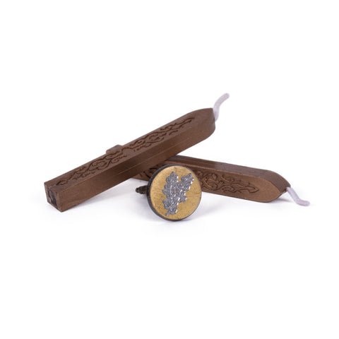 Written Word Calligraphy - Eucalyptus Wax Seal | Kolya Naturals, Canada
