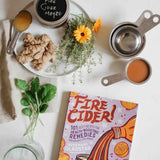 Fire Cider 101 Recipe Book with herbs