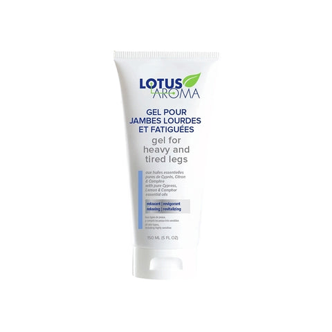 Lotus Aroma - Gel For Heavy & Tired Legs | Kolya Naturals, Canada