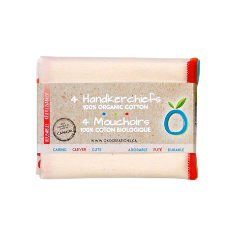 OKO Creations - Handkerchiefs (4-Pack)