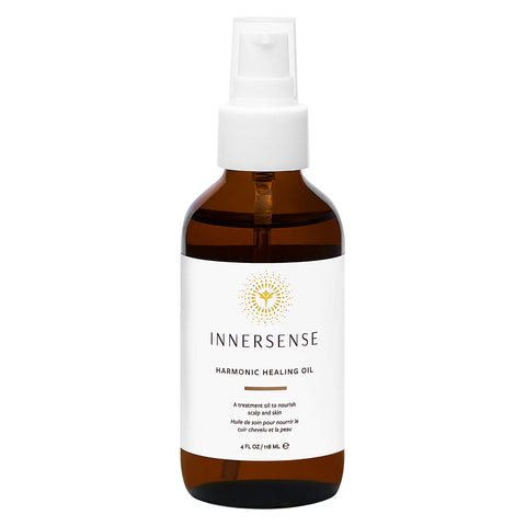 Pump Bottle of Innersense Harmonic Healing Oil 4 Ounces 118 Milliliters | Kolya Naturals, Canada