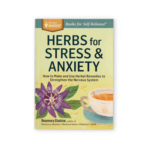 Herbs for Stress & Anxiety | Kolya Naturals, Canada