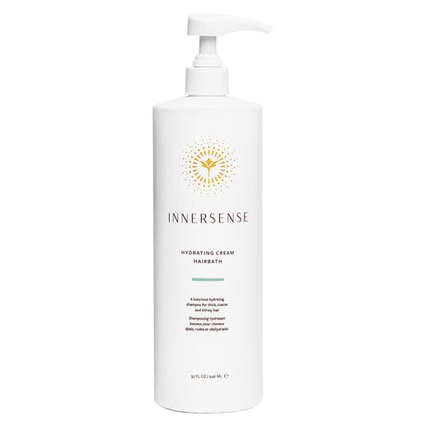 Pump Bottle of Innersense Hydrating Cream Hairbath 32 Ounces 946 Milliliters | Kolya Naturals, Canada